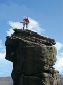Extreme Ironing: stirare camicie in luoghi estremi