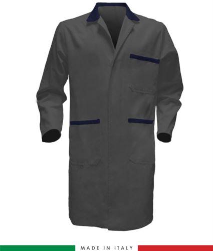 camice da lavoro per uomo 100% cotone massaua made in italy
