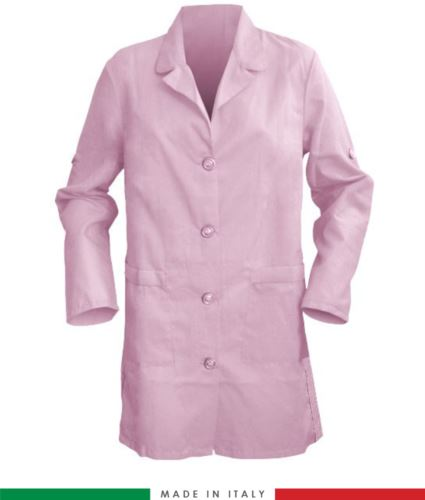 Camice donna rosa made in italy 100% cotone