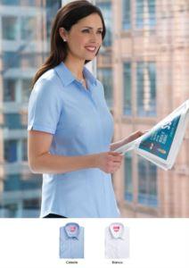 Camicia elegante per la divisa da lavoro (receptionist, hostess, hotellerie). Vendita all'ingrosso. Richiedi un preventivo gratuito.