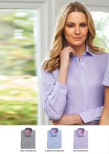 Camicia in cotone e poliestere, vestibilità semi-attillata. Tessuto in poliestere e cotone. Idelae per receptionist, hostess, hotellerie.