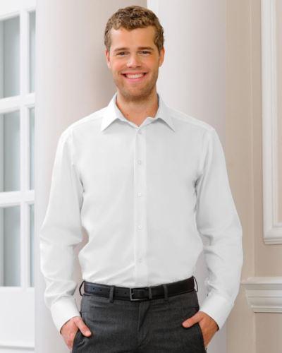 Camicia no stiro uomo maniche lunghe