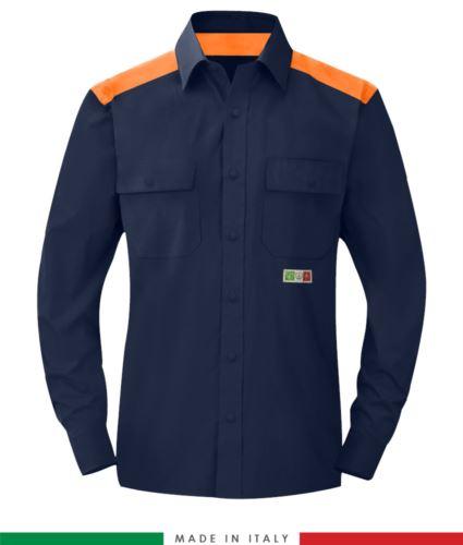 Camicia trivalente bicolore