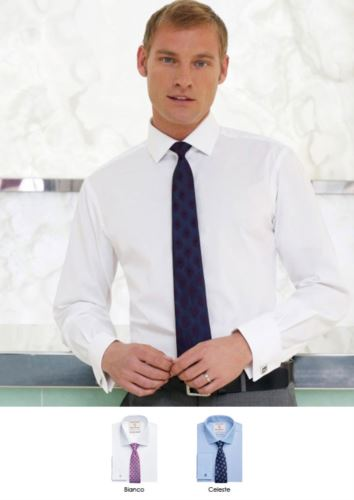 Camicia bianca uomo elegante