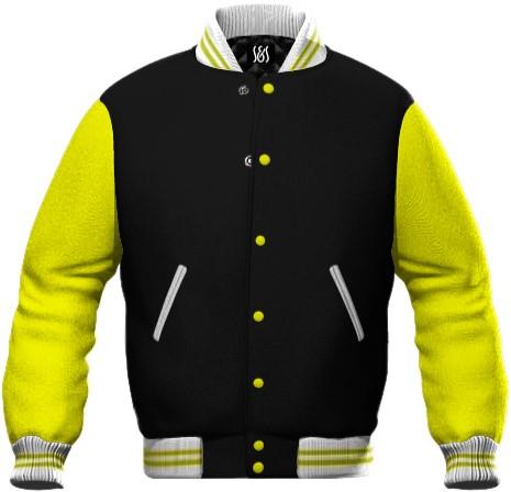 Felpa da lavoro bicolore nero e giallo vendita all'ingrosso personalizzabile