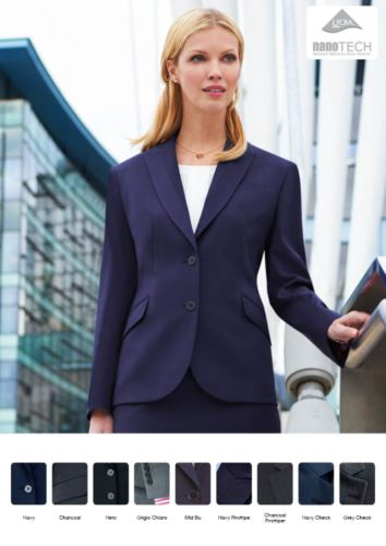 Giacca elegante con taglio sartoriale da donna | Divisa da lavoro