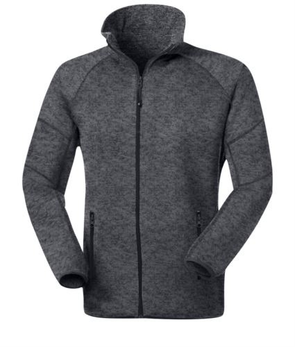 Giacca in maglia Knitted fleece