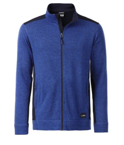 Giacca in pile (Knitted Fleece)