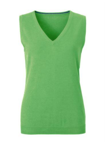 Gilet da donna verde