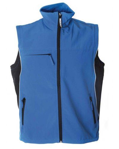 Gilet soft shell bicolore