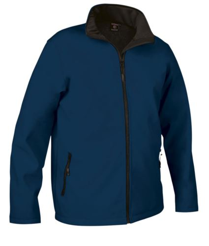 Giubbino in softshell