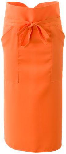 Grembiule cuoco con poliestere, colore arancione