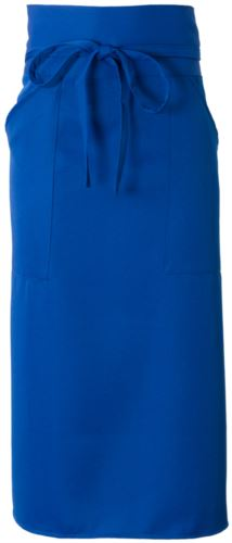 Grembiule cuoco con poliestere, colore azzurro royal