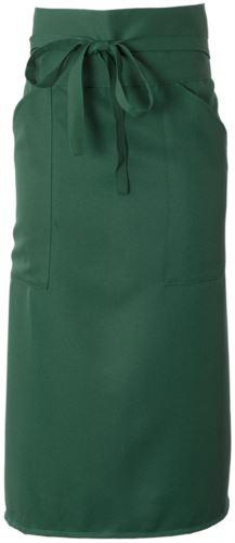 Grembiule cuoco con poliestere, colore verde