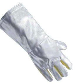 Guanti da avvicinamento, riducono la conduzione di calore, palmo in para-aramide, resistente all'abrasione, lunghezza 45 cm