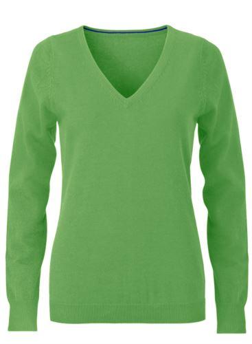 Maglioncino da donna elegante verde