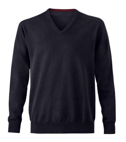 Maglione in cotone nero