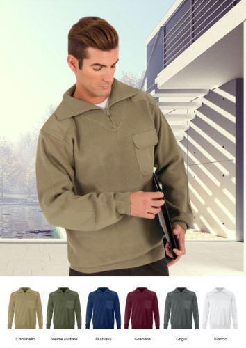 maglione con zip
