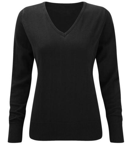 Maglione nero da donna