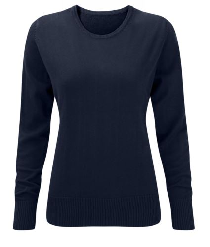 Maglione donna blu scuro