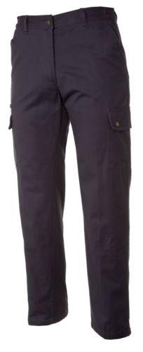 Pantaloni da lavoro multitasche imbottiti blu, abiti da lavoro invernali, pantaloni da lavoro con tasconi frontali