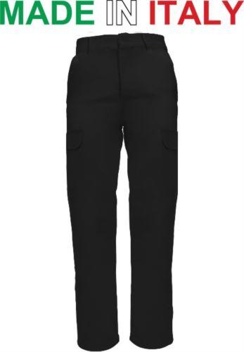 Pantaloni multitasche da lavoro neri, pantaloni da lavoro per fabbro, Abbigliamento da lavoro Torino