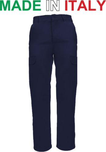 Pantalone multitasche da lavoro blu, pantalone da lavoro per fabbro, abbigliamento da saldatore