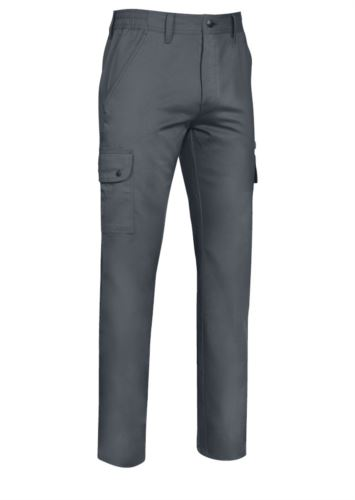 Pantalone multitasche stretch
