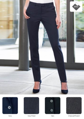 Pantaloni blu donna
