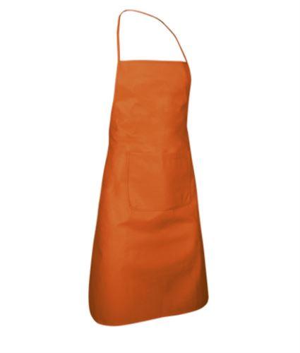 Parannanza in tnt con tasca, Colore arancione