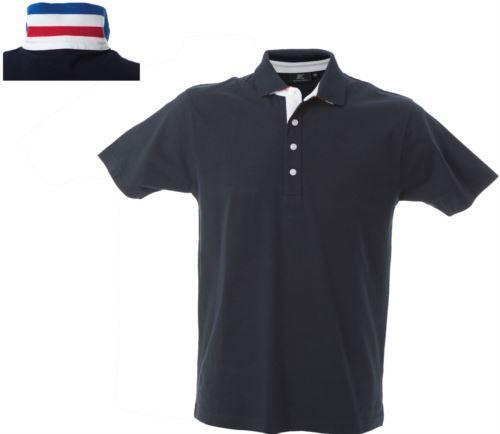 Polo manica corta in jersey