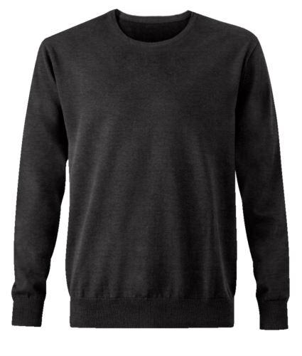 Pullover elegante da uomo grigio