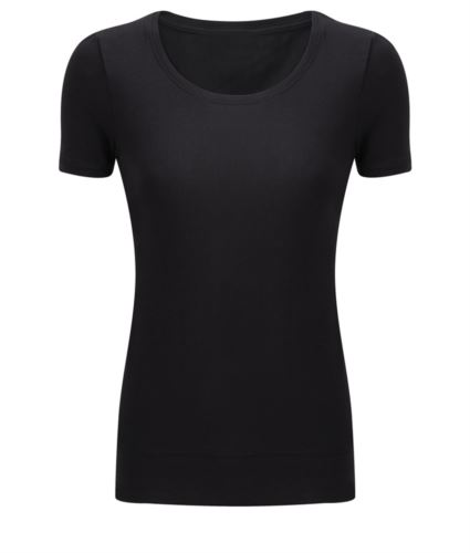 STRETCH TOP MANICA CORTA DONNA