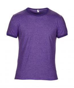 indumenti da lavoro femminili, abiti per lavoro Roma, T-shirt girocollo viola