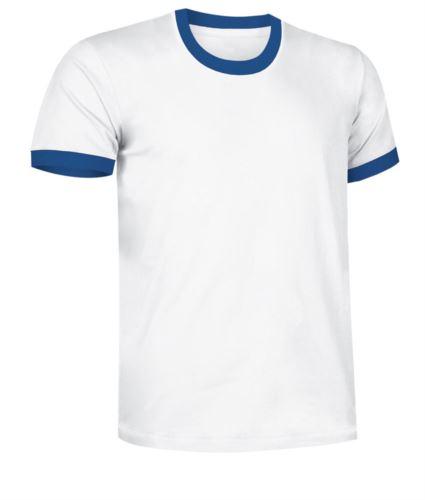 vestiti per lavoro edilizia, divise professionali Torino, Tshirt manica corta bianca