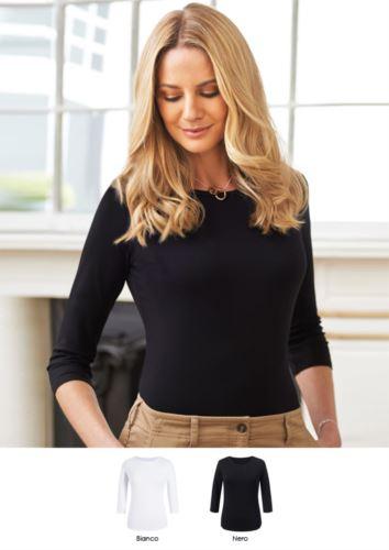 Camicia da divisa elegante in viscosa ed elastane modello stretch. Ideale per receptionist, hostess, hotellerie. Ottieni un preventivo.