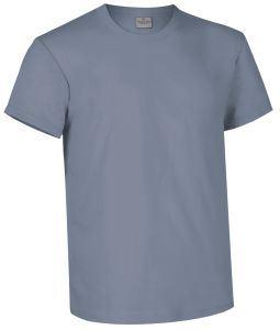 T-shirt girocollo a manica corta colore texano