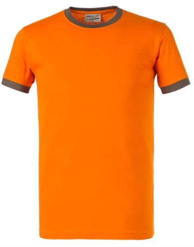 T-shirt girocollo bicolore