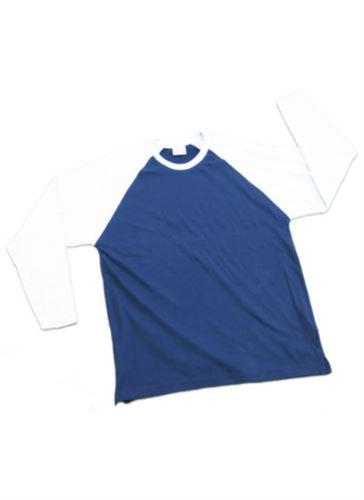 T-shirt m/lunga bicolore